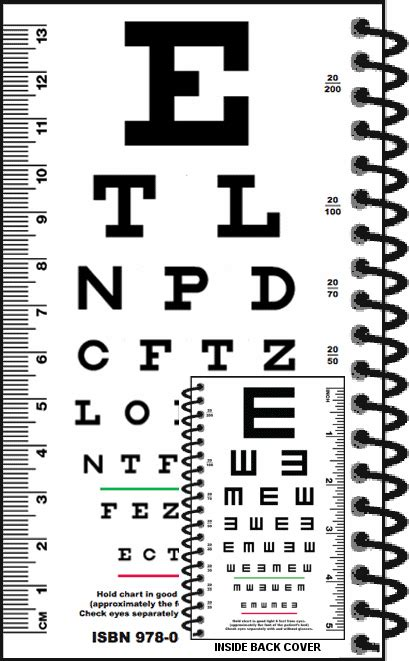 free printable pocket eye chart printable pocket snellen eye chart