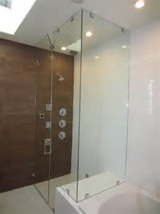 San Diego Bathroom Remodeling Glass Steam Shower With Vent Patriot Glass And Mirror