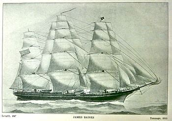 boat transport europe to australia james baines clipper wikipedia