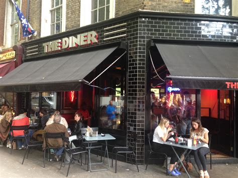 the diner covent garden out for lunch