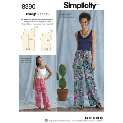 pattern sewing online simplicity sewing pattern 8390 a tie front one piece
