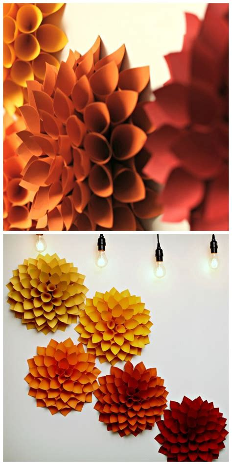 decorations diy best 25 paper wall decor ideas on diy wall