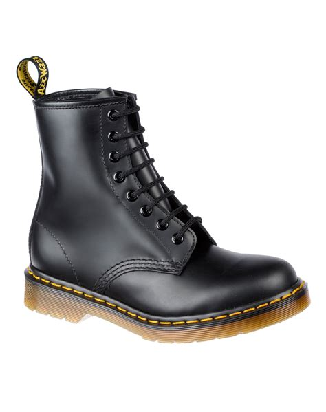 buy dr martens 1460 8 eye boot in smooth black at motel