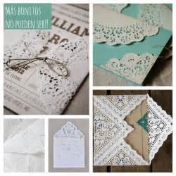 invitaciones con blondas de papel piku una pizca de hogar las mejores ideas para decorar con blondas de papel