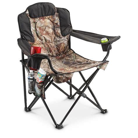 heavy duty folding chairs 500lbs guide gear heavy duty folding camo c chair 500 lb