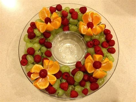 easy fruit tray ideas so simple so beautiful