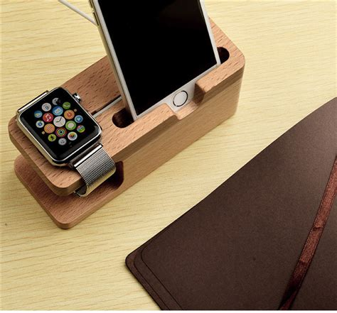 Wooden Smartphone Holder 1 classic wooden crafts mobile phone holder use for apple