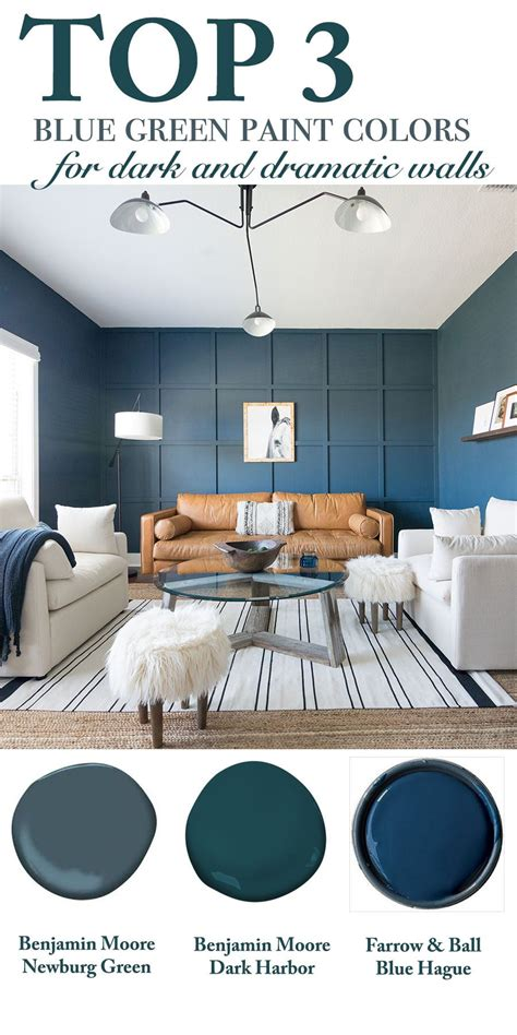 blue green paint colors top 3 blue green paint colors for and dramatic walls