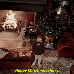 gif love ron weasley rupert grint harry potter merry christmas christmas daniel radcliffe cute