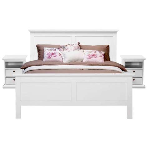 Futon 160x200 by Bed Fleur Wit 160x200 Cm