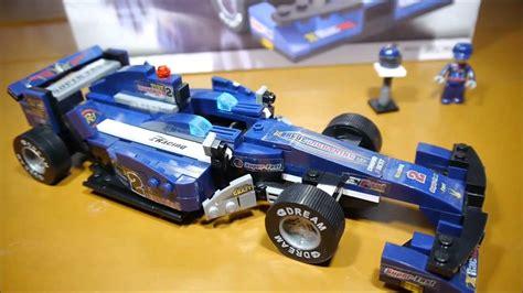 Lego Sluban M38 B0353 Formula Car Ii 124 F1bull 287pcs sluban formula 1 m38 b0353 f1 blue racing car