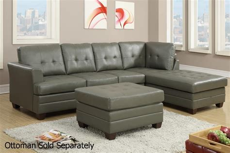 21 Ideas Of Gray Leather Sectional Sofas Sofa Ideas Grey Sofa Sectional