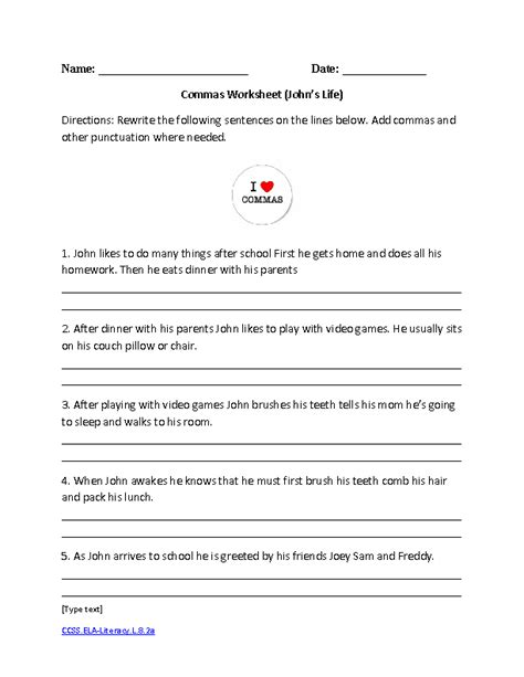 Language Grammar Worksheets by Worksheets 8th Grade Common Worksheets