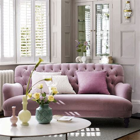 dfs sofa workshop bailey pink velvet sofa by dfs autumn interior and