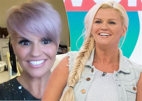 childrens haircuts hamilton nz kerry katona shows off her new dramatic pink pixie cut