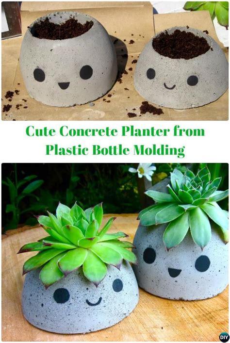 diy planter ideas 25 unique diy concrete planters ideas on diy