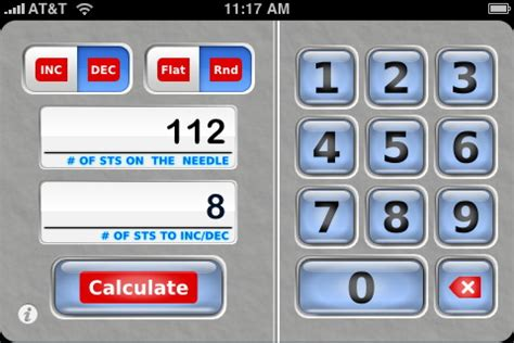 increase calculator knitting knit evenly calculator by jakro soft knitting app