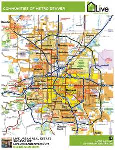 denver colorado maps denver metro map