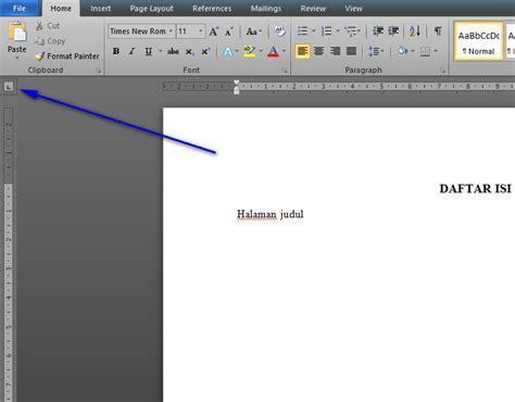 tutorial membuat daftar isi di word 2013 tutorial membuat daftar isi di office word dengan cepat