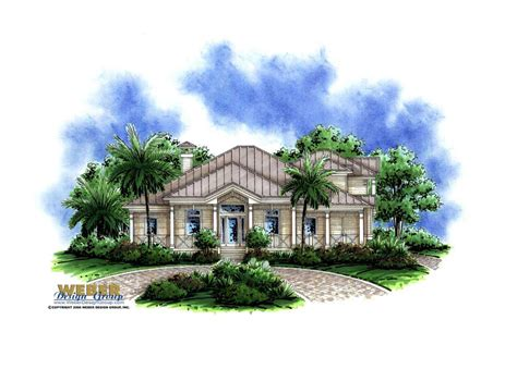 florida style house plans florida style house plan 4 bedrms 3 5 baths 3020 sq