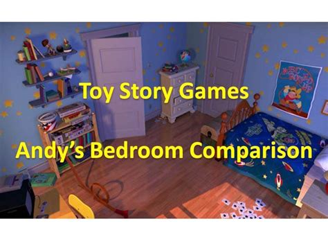 toy story andys bedroom toy story games andy s bedroom comparison youtube