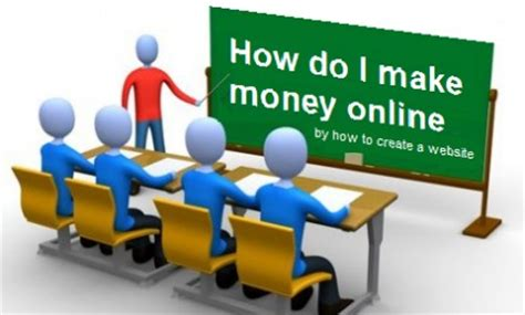 Hoe To Make Money Online - how to make money online