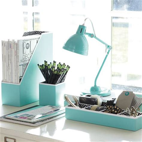 Turquoise Desk Accessories Turquoise Office Decor By Color