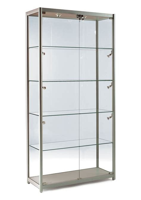 Display Cabinets With Glass Door Display Cabinet Comfortable Cabinet Design