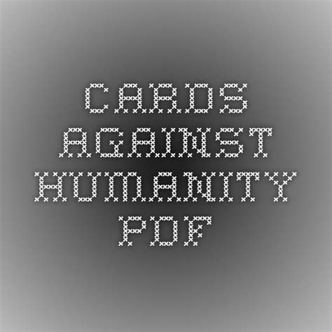 cards against humanity business card template cards against humanity pdf projects to try