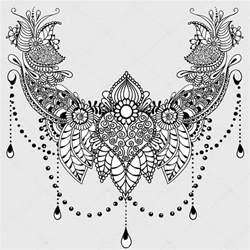 plantilla de tatuaje de flores mehndy archivo im 225 genes