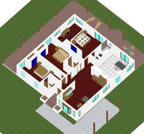 Cottage Style Floor Plans 200 square meters house floor plan house design ideas