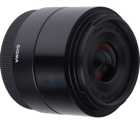Lensa Sigma Wide Angle 19mm F2 8 sigma 19 mm f 2 8 dn wide angle prime lens for sony