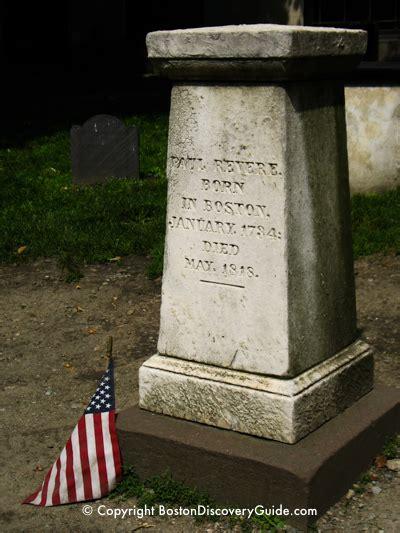 granary burying ground freedom trail boston discovery