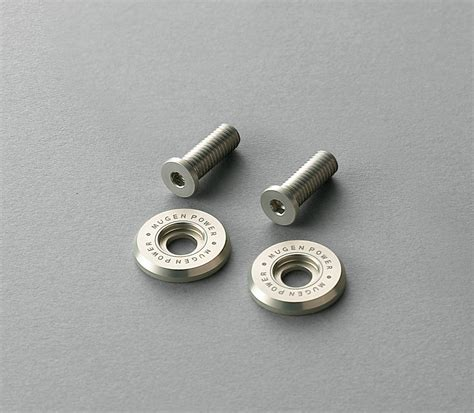Plat Mugen Jazz Mugen Registration Plate Bolts For 2014 Honda Jazz