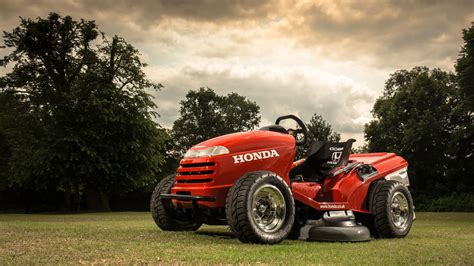 desire   mower hondas souped  riding mower