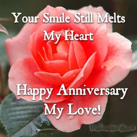 Romantic Wedding Anniversary Wishes for Wife » True Love Words