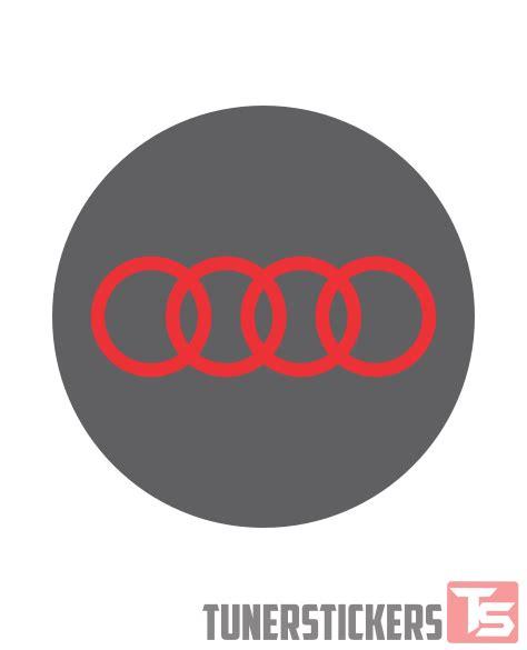 logo audi 2017 audi logo center cap stickers tuner stickers