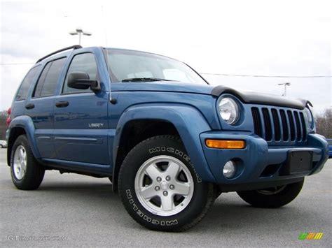 jeep liberty limited 2004 2004 atlantic blue pearl jeep liberty limited 4x4