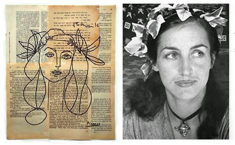 Portrait of Francoise Gilot Picasso by danorsh on DeviantArt