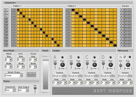 drum pattern plugin kvr beat morpher by oli larkin drum machine vst plugin