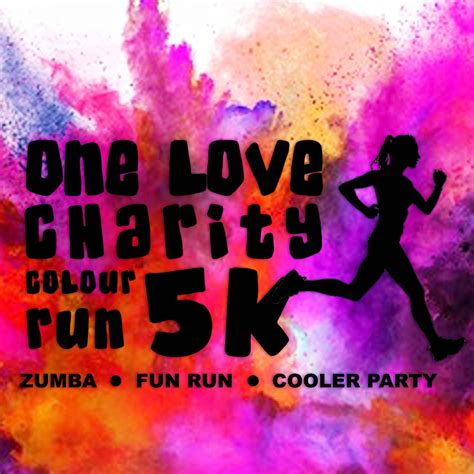 color run charity 2018 one charity 5k colour run race roster