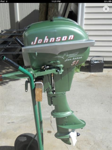 old johnson boat motors johnson outboard 1955 5 5 hp classic outboards