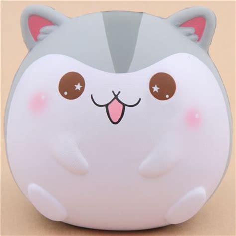 Squishy Hk 1 scented jumbo grey hamster animal squishy by popularboxes hk animal squishy squishies
