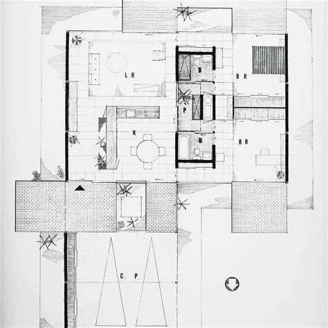 case study houses floor plans pierre koenig floor plan of case study house 21 framed