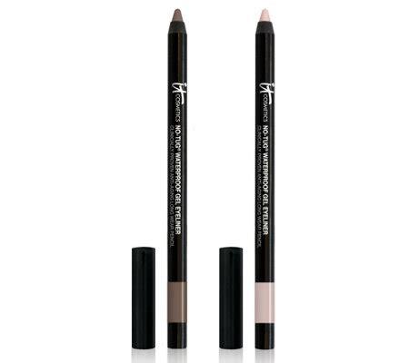 Eyeliner Wardah Anti Air it cosmetics line brighten anti aging gel waterproof eyeliner duo qvc