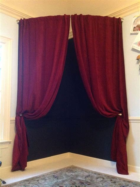 curved curtains children s playhouse theater and stage so easy 4