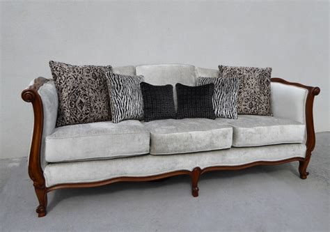 style louis xv daybed sofa 3 seater timeless