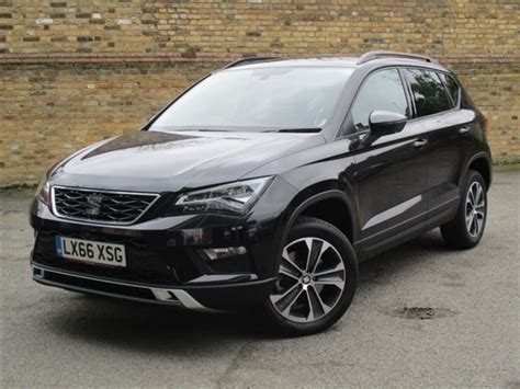 Used 2016 Seat Ateca In Black Magic 10 Miles For Sale In