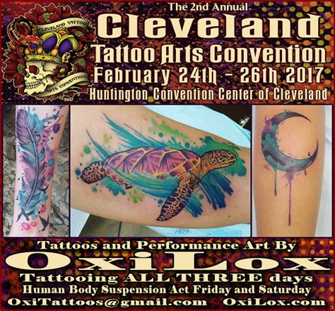 tattoo convention 2017 cleveland cleveland tattoo arts convention oxi lox