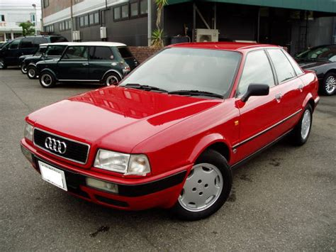 how make cars 1992 audi 80 transmission control audi 80 2 0e 1992 red 90 000 km details japanese used cars goo net exchange